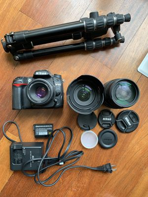 Nikon D7000 DSLR, Lenses, and Accessories for Sale in Washington, DC