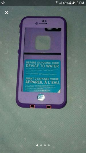 Iphone 7 & 8 lifeproof case for Sale in West Mifflin, PA