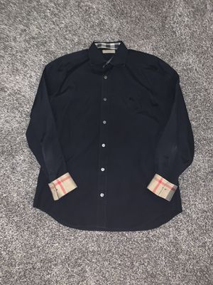 Burberry Brit mens M nova check sleeve button up for Sale in Portland, OR