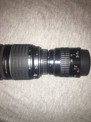CANON CAMERA LENSES for Sale in Fort Collins, CO
