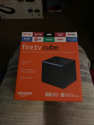 Fire Tv Cube for Sale in Hawthorne, CA