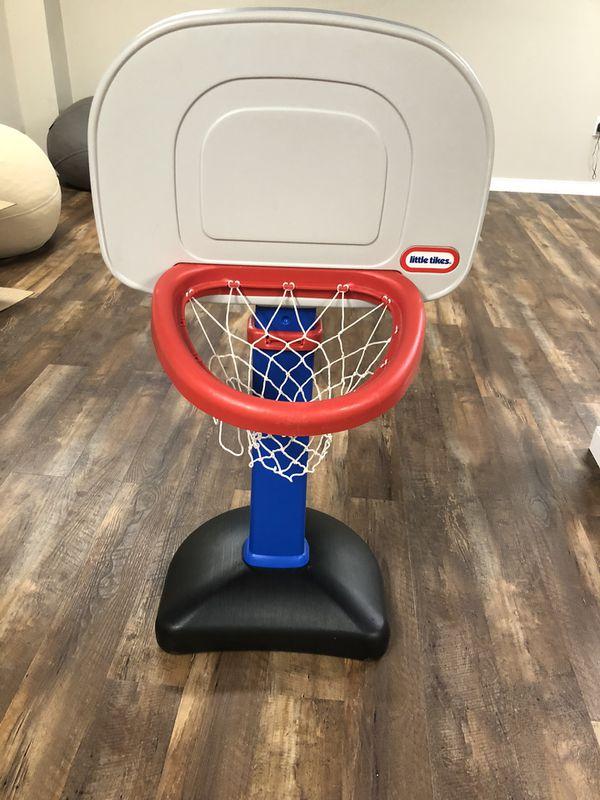 Little Tikes adjustable basketball hoop