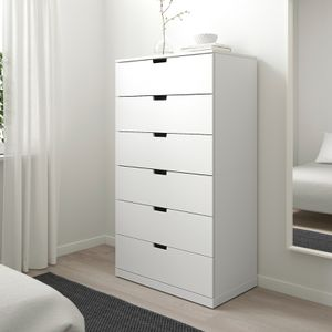 "IKEA ""NORDLI"" white 6-drawer dresser for Sale in Oceanside, CA"