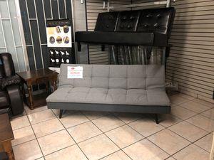 Light Grey Futon Sofa Bed for Sale in Phoenix, AZ