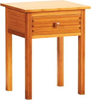 Gorgeous 100% bamboo nightstand/ bedside table for Sale in Tacoma, WA