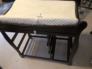 Baby Changing Table Infant Dresser Nursery Drawer Storage, for Sale in Nashville, TN