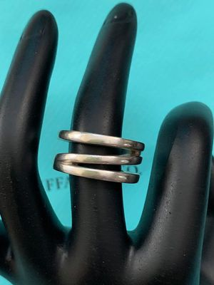 Tiffany & Co twisted rings size 7 for Sale in Gaithersburg, MD