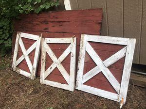 Barn Windows for Sale in Woodinville, WA