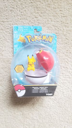 Tomy Pokemon Pikachu + Repeat ball for Sale in Spring, TX