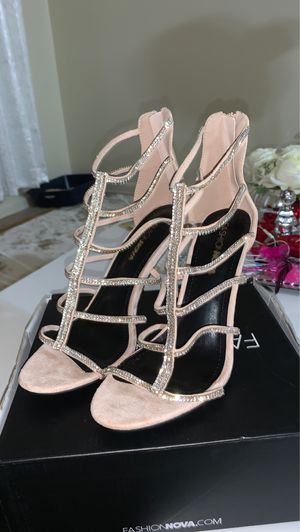Try again heeled sandals for Sale in Columbus, OH