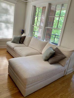 Kroehler brand two piece sectional sofa for Sale in Atlanta, GA