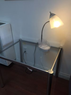 Small chrome lamp for Sale in Santa Monica, CA