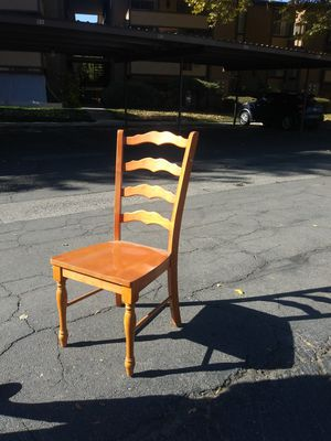 Nice oak wooden chair for Sale in Murray, UT