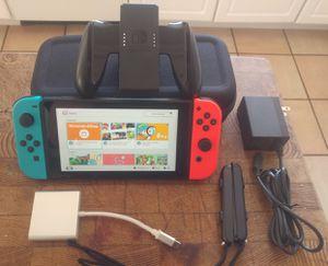 Nintendo. Switch w/ Accessories - READ for Sale in San Francisco, CA