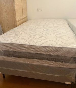 New twin mattress and box spring 2 pc. Bed frame is not included for Sale in West Palm Beach, FL