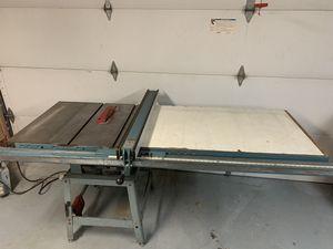 Delta Jet Biesemeyer table saw extension 52 in for Sale in Whittier, CA