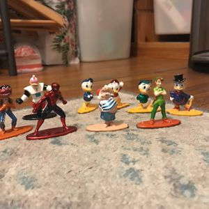 Disney Characters Mini Metal Toys for Sale in El Monte, CA