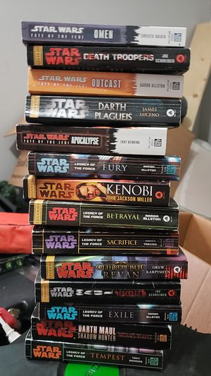 14 Star Wars books for Sale in Columbia, MO