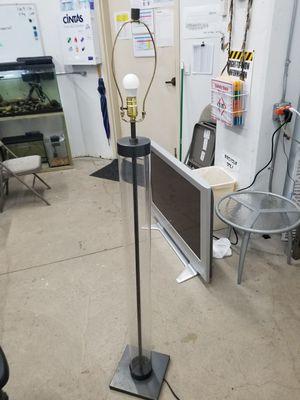 Glass Cylinder Floor Lamp for Sale in Wahiawa, HI