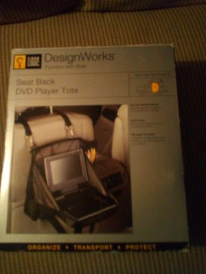 Designworks seat-back DVD player tote for Sale in Columbus, OH