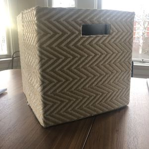 Four 13-in Fabric Storage Cubes for Sale in Portland, OR