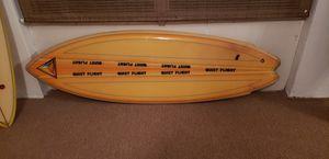 Surfboard vintage wall hanger for Sale in Tampa, FL