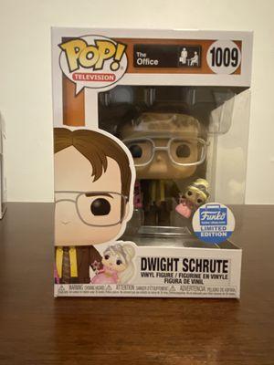 Dwight Schrute with Princess Unicorn (Funko Shop Limited Edition) for Sale in Boston, MA