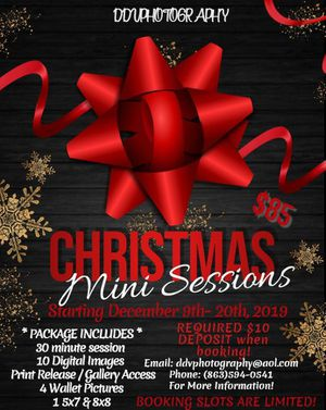 Christmas Sessions for Sale in Auburndale, FL