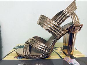 Rose Gold Block Heels for Sale in Del Valle, TX