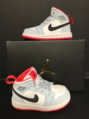 NEW JORDAN 1MID TODDLER SIZE 5 AND 9 for Sale in Dallas, TX