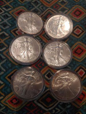 Silver eagles for Sale in Chester, VA