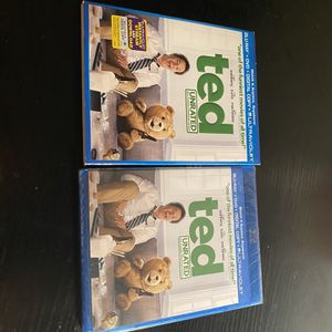 Ted Unrated Blu-Ray, DVD, Digital Copy & Ultraviolet (Brand New Sealed) for Sale in Baltimore, MD