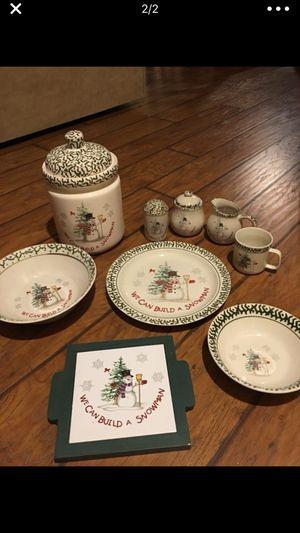 Winter dinner ware for Sale in Irwin, PA