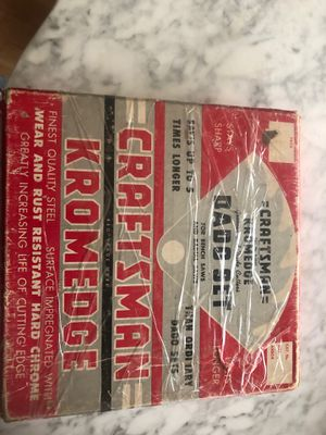 Craftsman Dato set for table saws for Sale in Los Gatos, CA