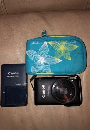 Canon PowerShot ELPH 300HS/Case Bundle for Sale in Kennewick, WA