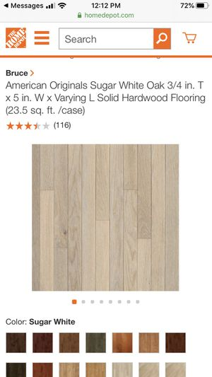 hardwoods flooring 30 boxes for Sale in Milpitas, CA