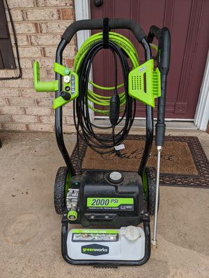 Electric pressure washer for Sale in Mustang, OK