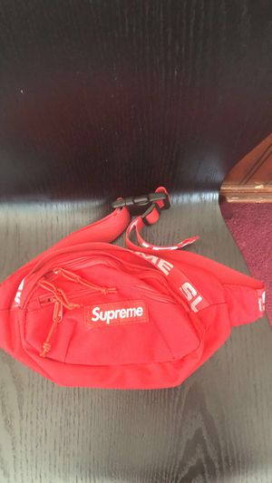 Supreme Waist Bag (SS18) RED for Sale in Alexandria, VA