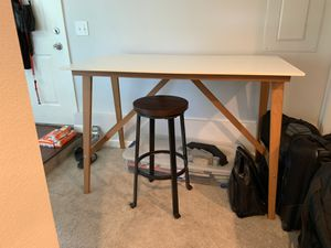 White IKEA Dining table for Sale in Seattle, WA