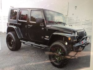 2008 Jeep Wrangler Unlimited Sahara 1 Owner/ No Accidents for Sale in Gainesville, GA