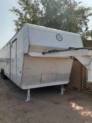 Gooseneck enclosed cargo trailer 8 x 40 for Sale in Mesa, AZ