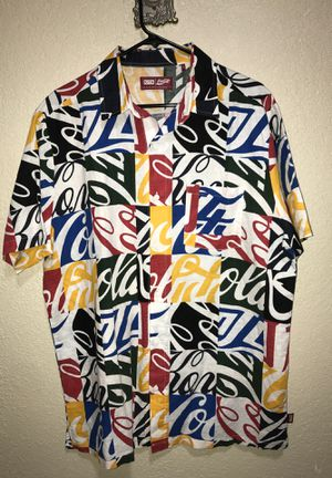 Kith x Coca Cola Button Up Shirt for Sale in San Antonio, TX