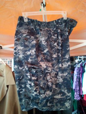 Shorts camo blue for Sale in Niederwald, TX