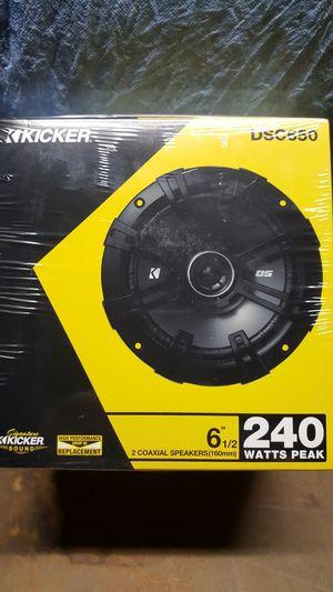 KICKER 6.5 INCH SPEAKERS for Sale in Pico Rivera, CA