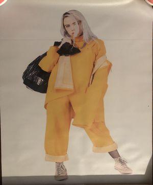 Billie eilish poster for Sale in Sanger, CA
