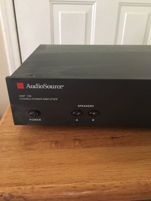 Audio Source 2 channel amp for Sale in Mesa, AZ