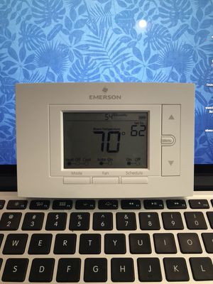 Emerson wifi thermostat works with Alexa for Sale in Dallas, TX