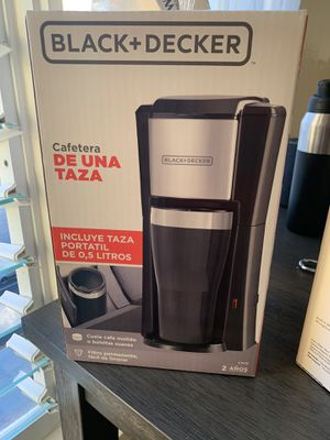 Black & Decker Coffee Maker w/Cup for Sale in Honolulu, HI