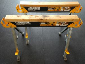 Toughbuilt C550 Sawhorse/Jobsite Table Stands - Pair! for Sale in Fife, WA