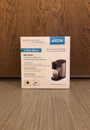 Aicok Single Serve Coffee Maker for Sale in Mesquite, NV